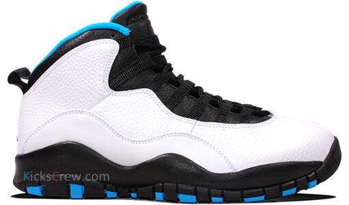 Air Jordan 10 Retro White Powder Blue 籃球鞋/運動鞋 (310805-106) 海外預訂