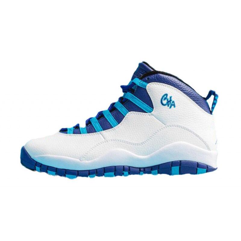 Air Jordan 10 Retro 'Charlotte Hornets' White/Light Purple 籃球鞋/運動鞋 (310805-107) 海外預訂
