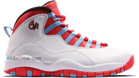 Air Jordan 10 Retro Chicago 籃球鞋/運動鞋 (310805-114) 海外預訂