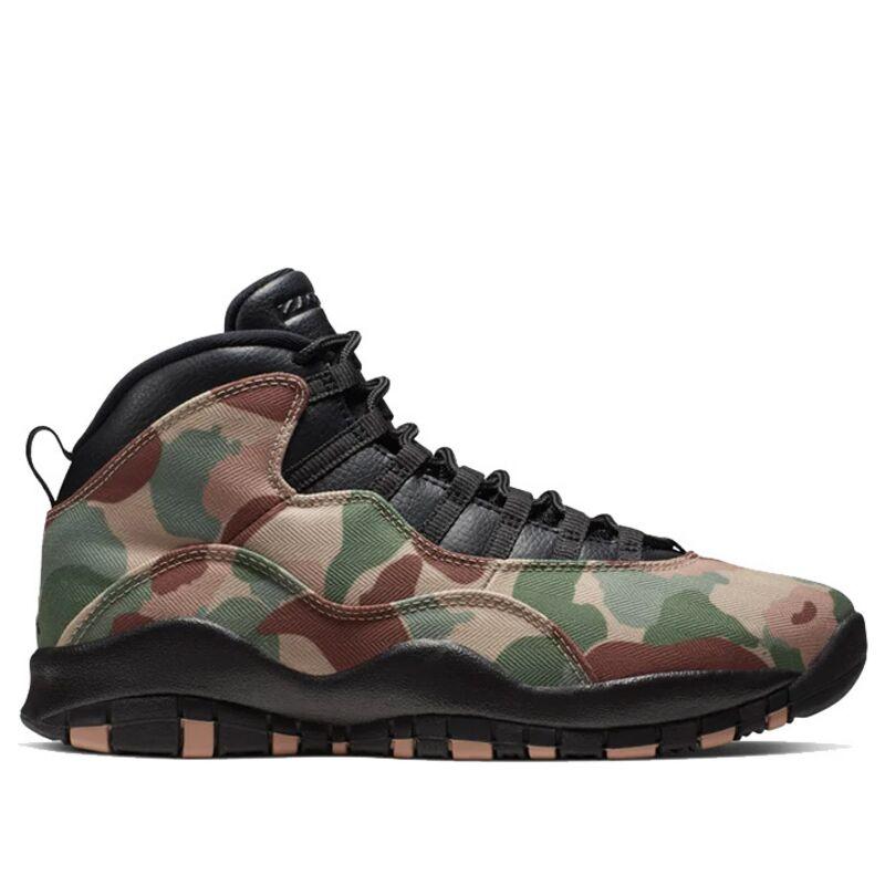 Air Jordan 10 Retro 'Desert Camo' Black/Clay 籃球鞋/運動鞋 (310805-200) 海外預訂