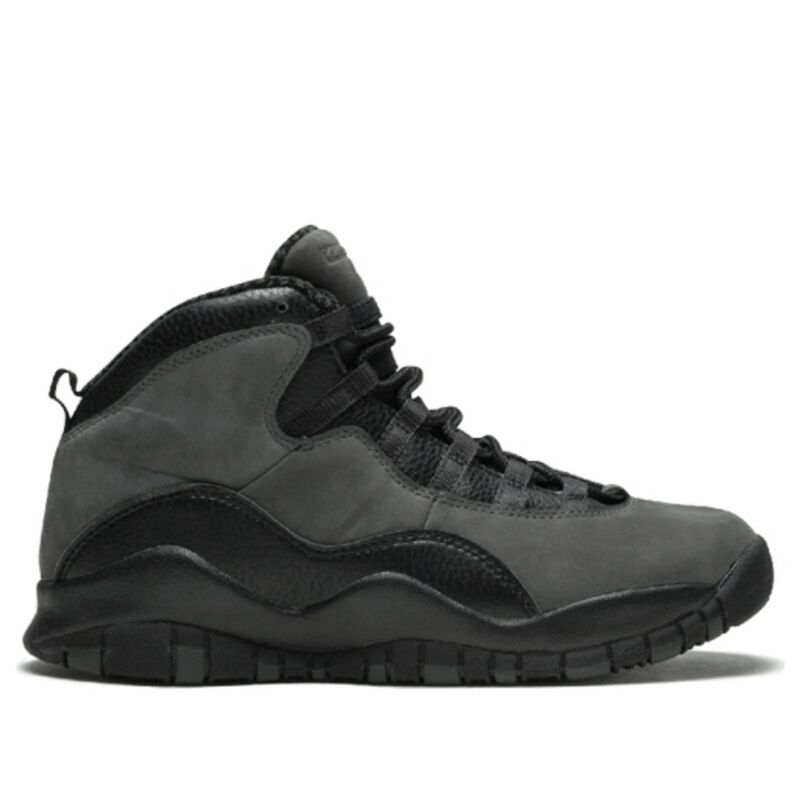 Air Jordan 10 Retro'Dark Shadow' BG Dark Shadow/True Red-Black 籃球鞋/運動鞋 (310806-002) 海外預訂
