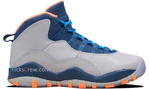 Air Jordan 10 Retro GS Bobcats 籃球鞋/運動鞋 (310806-026)
