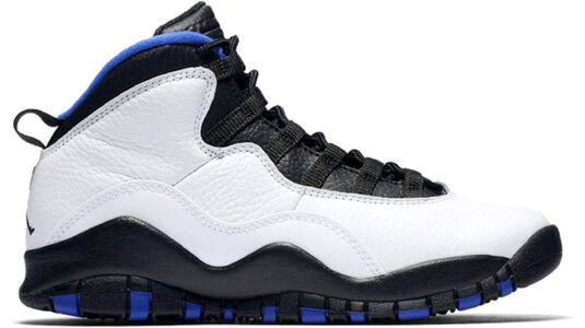 Air Jordan 10 Retro GS 'Orlando' White/Black-Royal-Metallic Silver 籃球鞋/運動鞋 (310806-108) 海外預訂