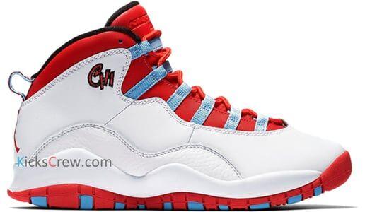 Air Jordan 10 Retro BG Chicago 籃球鞋/運動鞋 (310806-114) 海外預訂