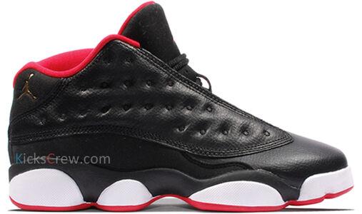 Air Jordan 13 Retro Low BG Bred 籃球鞋/運動鞋 (310811-027) 海外預訂