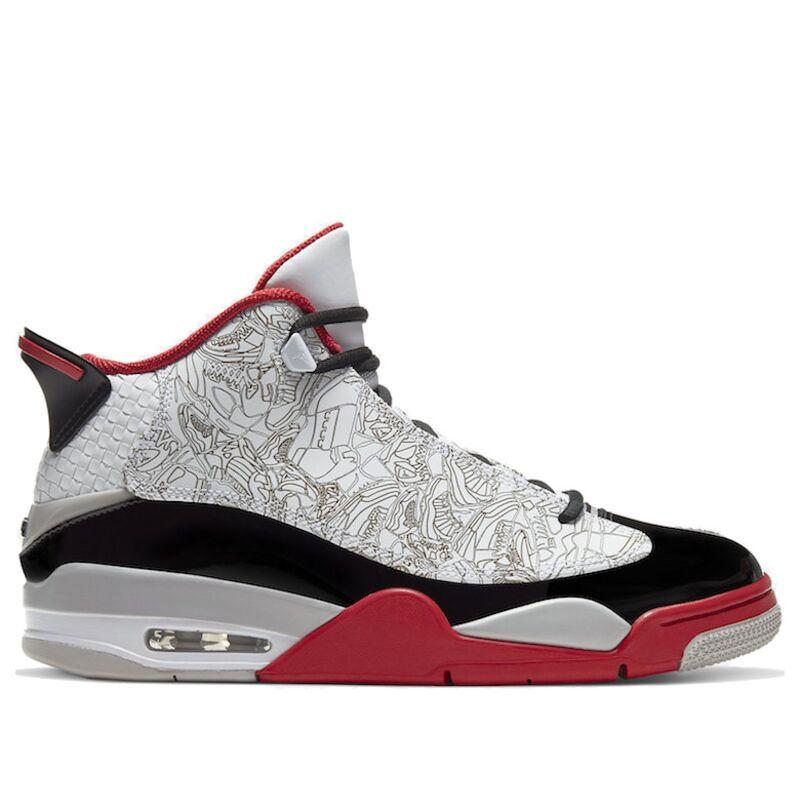 Jordan Dub Zero 'Varsity Red' White/Black/Varsity Red 籃球鞋/運動鞋 (311046-116) 海外預訂