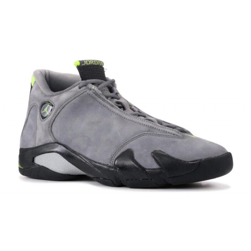 Air Jordan 14 Retro 'Chartreuse' Light Graphite/Chartreuse/Black 籃球鞋/運動鞋 (311832-031) 海外預訂