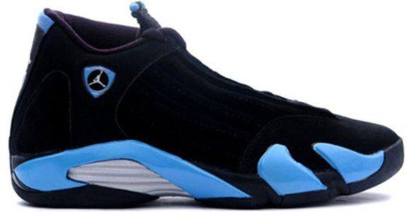 Air Jordan 14 Retro Black University Blue (311832-041) 海外預訂