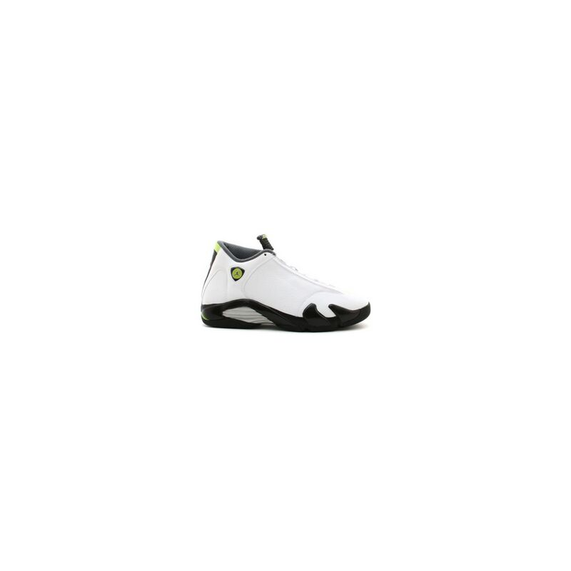 Air Jordan 14 Retro 'White Chartreuse' White/Chartreuse/Black 籃球鞋/運動鞋 (311832-132) 海外預訂