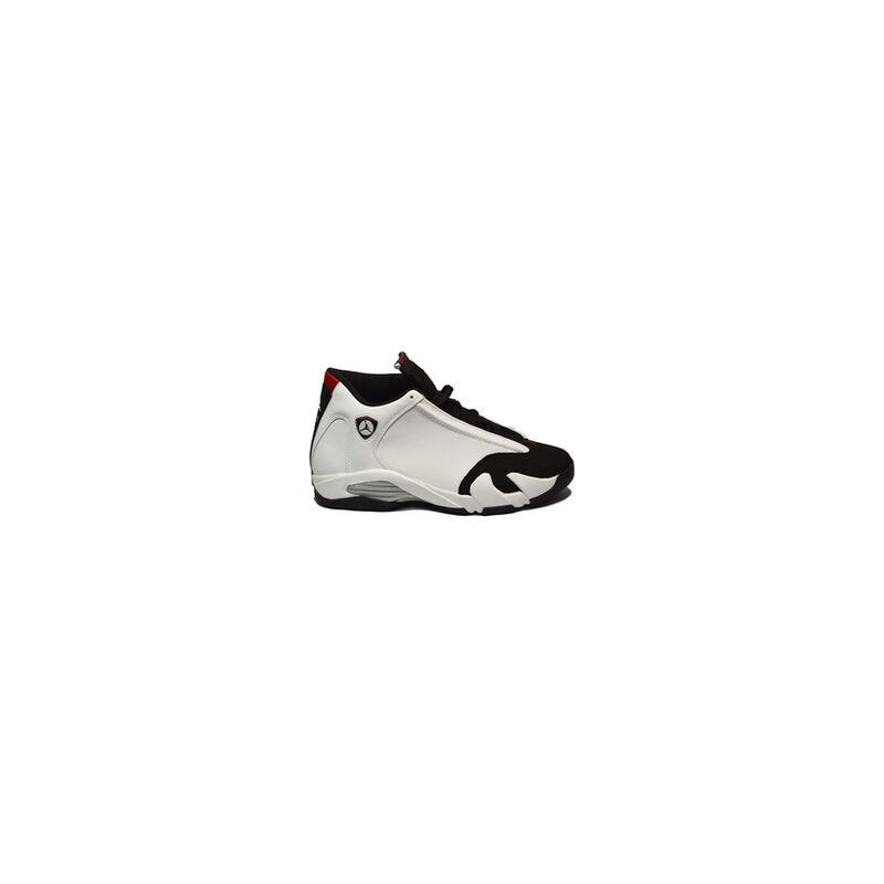 Air Jordan 14 Retro 'Black Toe' 2006 White/Black/Varsity Red/Metallic Silver 籃球鞋/運動鞋 (311832-162) 海外預訂