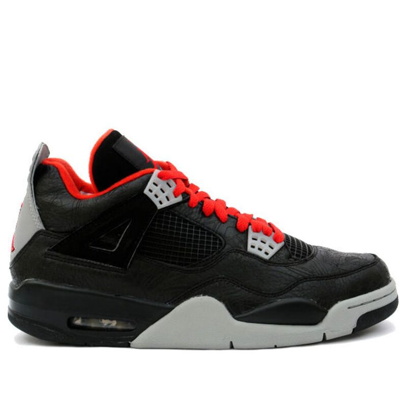 Air Jordan 4 Retro Rare Air 'Laser' Black/Varsity Red-Medium Grey 籃球鞋/運動鞋 (312255-061) 海外預訂