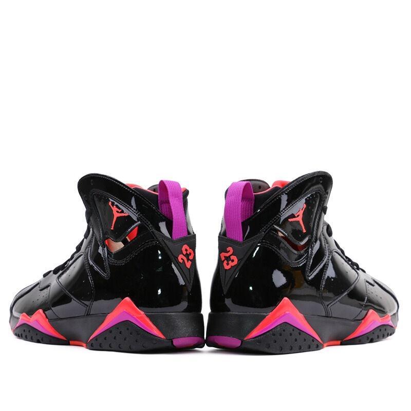 Womens女子 WMNSAir Jordan 7 Retro Black Patent Leather 籃球鞋/運動鞋 (313358-006) 海外預訂