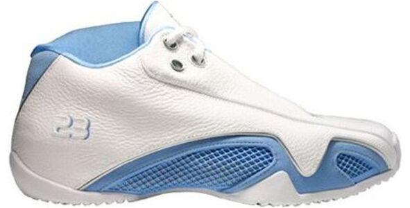 Air Jordan 21 Low 'University Blue' White/University Blue/Metallic Silver 籃球鞋/運動鞋 (313529-142) 海外預訂