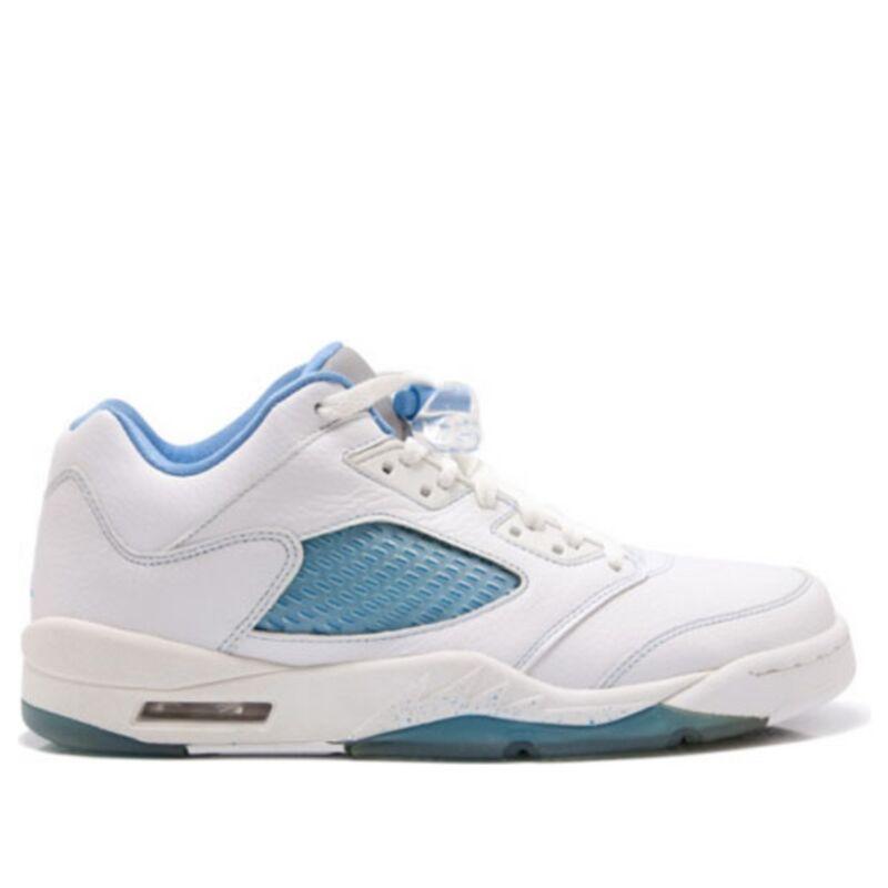 Womens女子 WMNSAir Jordan 5 Retro Low 'UNC' White/University Blue-Team Red 籃球鞋/運動鞋 (314337-141) 海外預訂