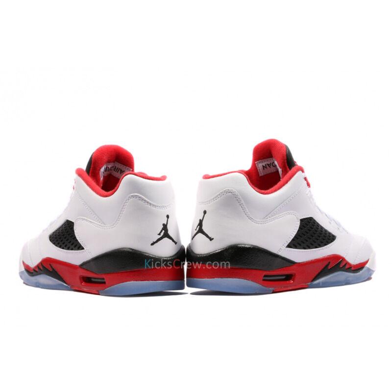 Air Jordan 5 Retro Low BG Fire Red 籃球鞋/運動鞋 (314338-101) 海外預訂