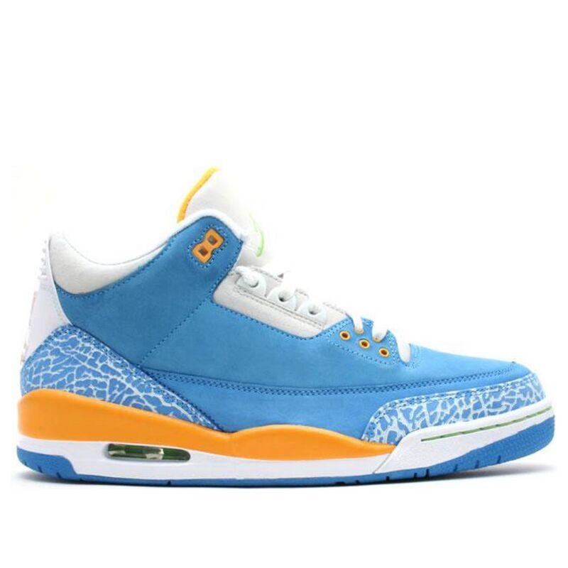 Air Jordan 3 Retro LS 'Do The Right Thing' Brisk Blue/Radiant Green-Pro Gold 籃球鞋/運動鞋 (315297-471) 海外預訂