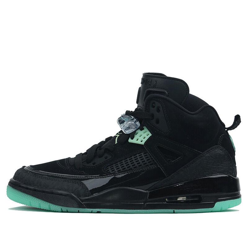 Jordan Spizike Black Green Glow 籃球鞋/運動鞋 (315371-032) 海外預訂