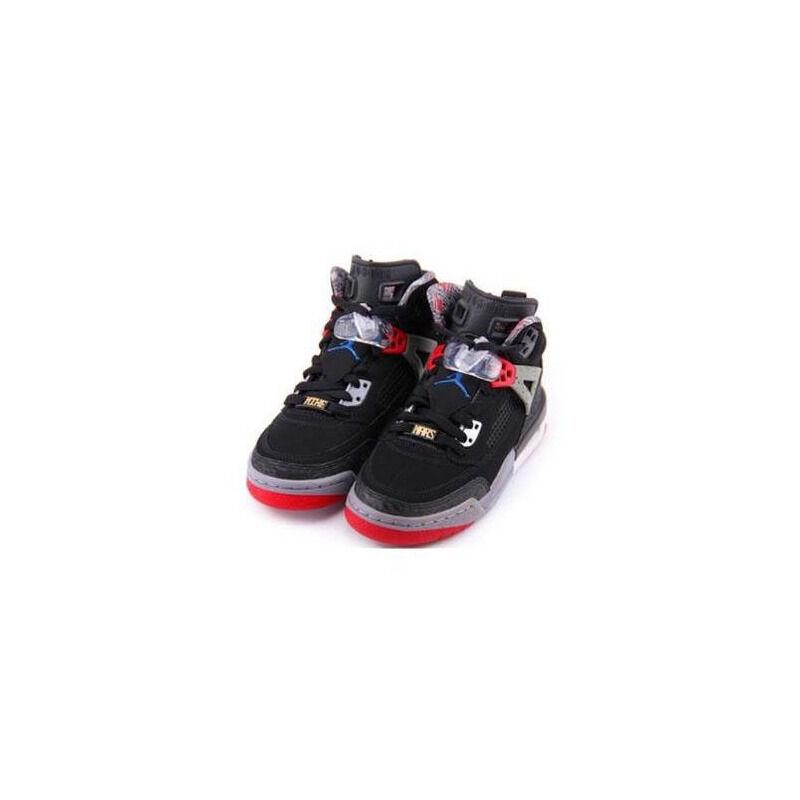 Jordan Spizike 'Varsity Red' Black/Varsity Red-Cement Grey-Military Blue 籃球鞋/運動鞋 (315371-062) 海外預訂