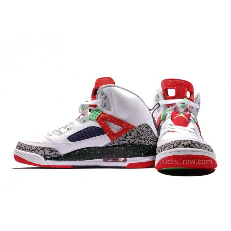 Jordan Spizike White Poison Green 籃球鞋/運動鞋 (315371-132) 海外預訂