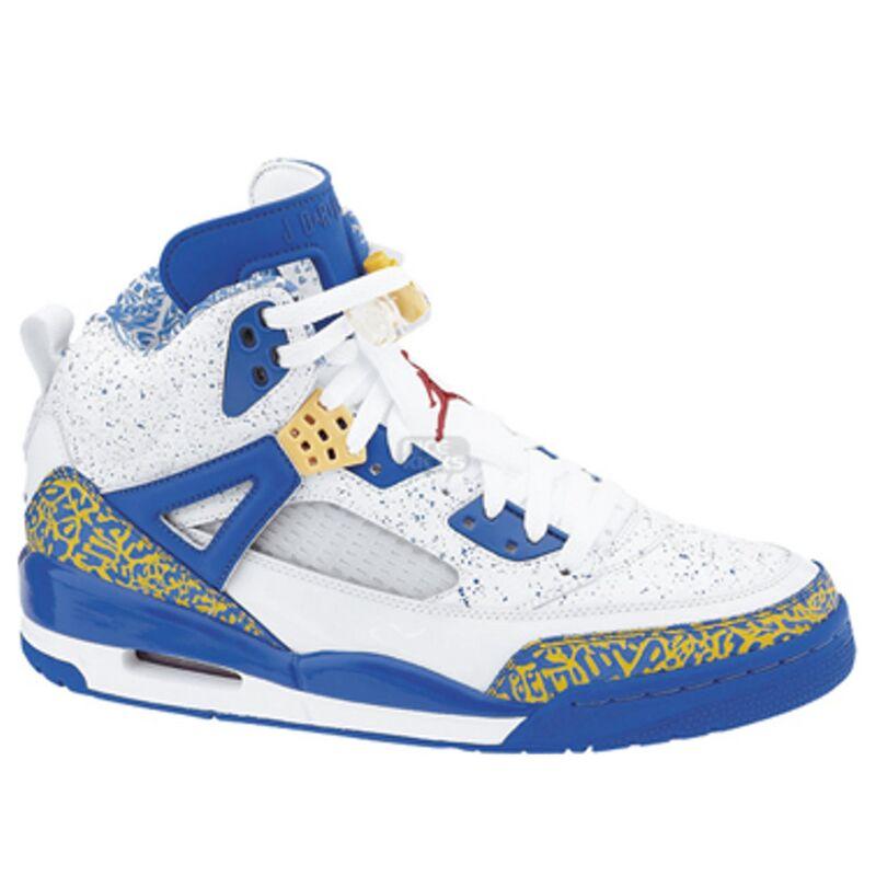 Jordan Spizike 'Do The Right Thing' White/Varsity Red-Argon Blue-Pro Gold 籃球鞋/運動鞋 (315371-162) 海外預訂