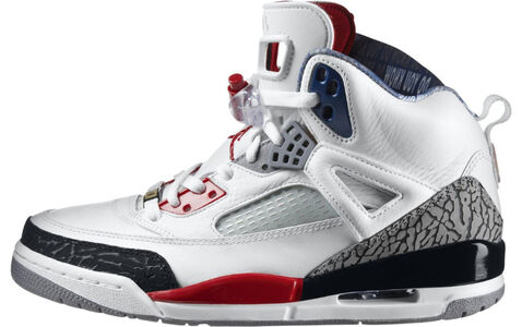 Jordan Spizike 'Mars Blackmon' White/Fire Red-Black 籃球鞋/運動鞋 (315371-165) 海外預訂