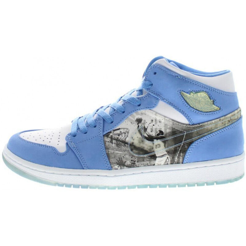 Air Jordan 1 Retro Alpha 'White University Blue' White/University Blue 籃球鞋/運動鞋 (316269-142) 海外預訂