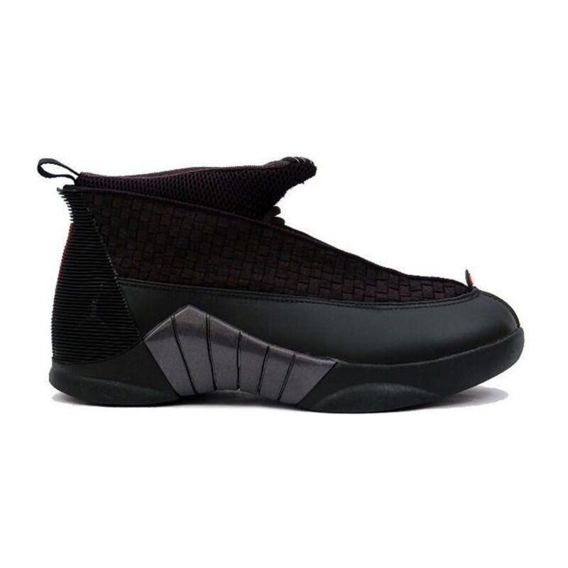 Air Jordan 15 Retro 'Stealth' 2007 Black/Varsity Red 籃球鞋/運動鞋 (317111-061) 海外預訂
