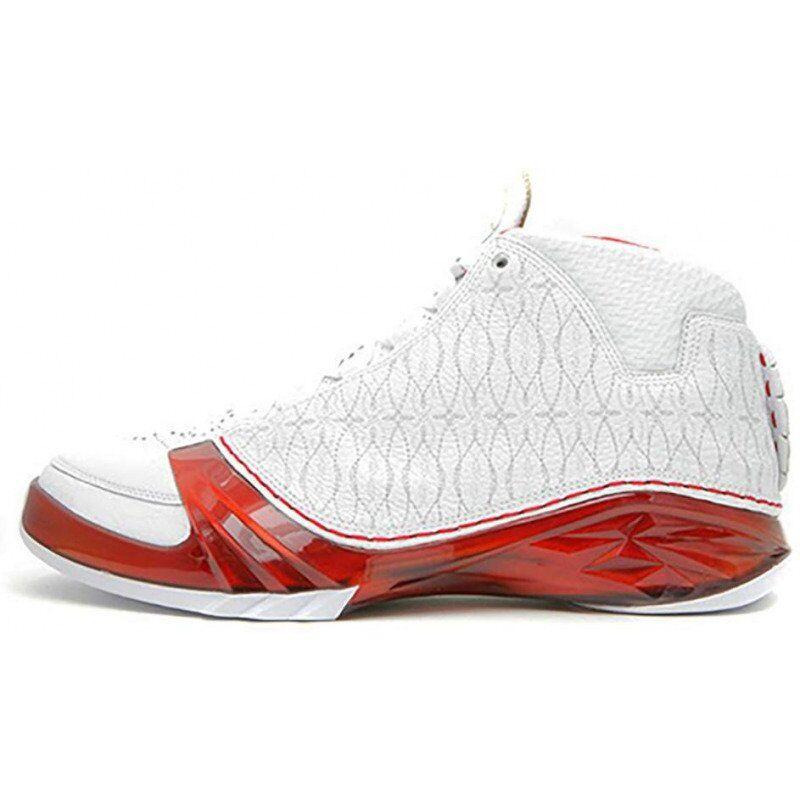 Air Jordan 23 OG 'White Varsity Red' White/Varsity Red/Metallic Silver 籃球鞋/運動鞋 (318376-161) 海外預訂