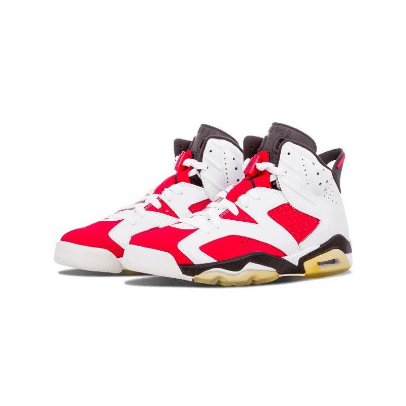 Air Jordan 6 Retro 'Countdown Pack' White/Carmine-Black 籃球鞋/運動鞋 (322719-161) 海外預訂