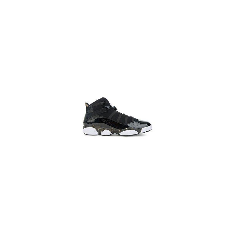 Air Jordan 6 Rings 'Black Metallic Gold' Black/Metallic Gold-White 籃球鞋/運動鞋 (322992-007) 海外預訂