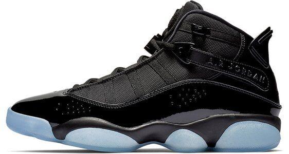 Jordan 6 Rings 'Black Ice' Black/White-Black 籃球鞋/運動鞋 (322992-011) 海外預訂