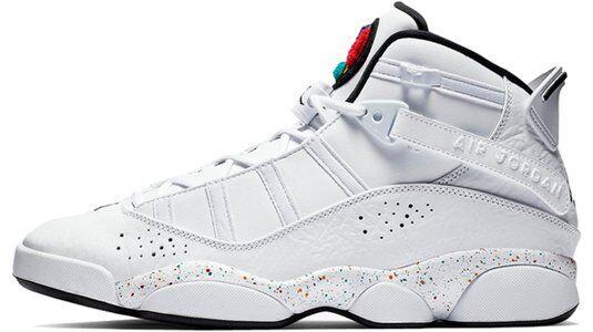 Jordan 6 Rings Paint Splatter 籃球鞋/運動鞋 (322992-100) 海外預訂