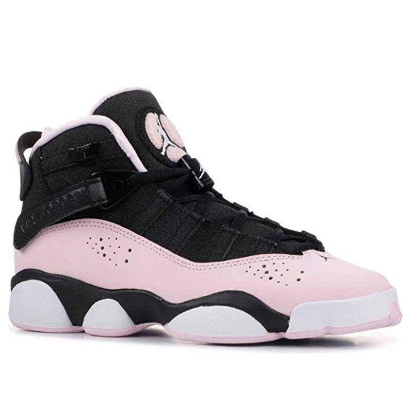 Jordan 6 Rings 'Black Pink Foam' GS Black/Pink Foam-Anthracite 籃球鞋/運動鞋 (323399-006) 海外預訂