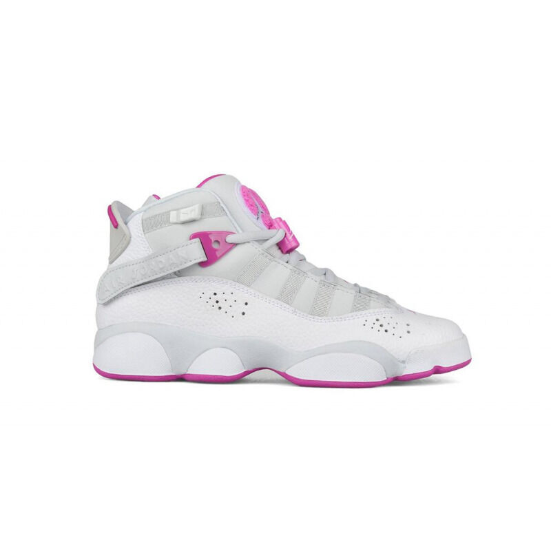 Jordan 6 Rings 'Platinum Fuchsia' GS Pure Platinum/Fuchsia Blast 籃球鞋/運動鞋 (323399-011) 海外預訂