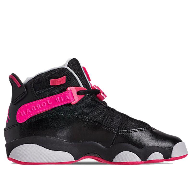 Jordan 6 Rings'Black Pink' GS Black/Hyper Pink/White 籃球鞋/運動鞋 (323399-061) 海外預訂