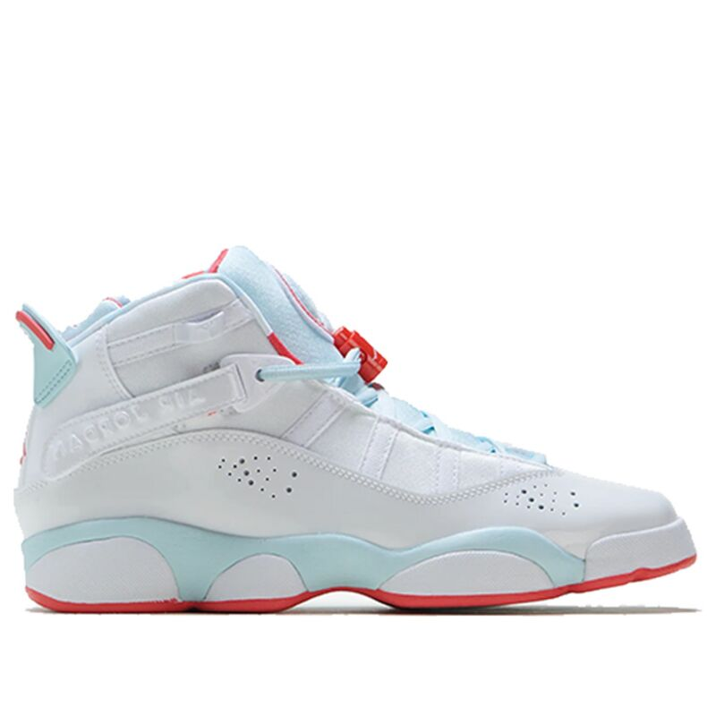 Air Jordan 6 Rings GS White Blue 籃球鞋/運動鞋 (323399-104) 海外預訂