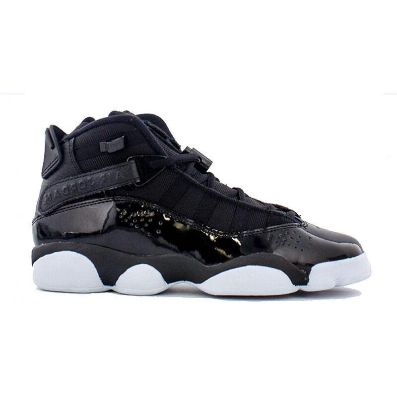 Jordan 6 Rings'Black' GS Black/Black-White 籃球鞋/運動鞋 (323419-011) 海外預訂