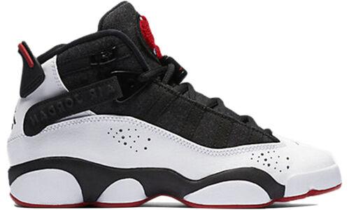 Jordan 6 Rings BG 'Black White Gym Red' Black/White-Gym Red-Black 籃球鞋/運動鞋 (323419-012) 海外預訂