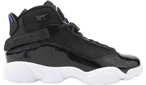 Jordan 6 Rings'Black Blue' GS Black/Blue 籃球鞋/運動鞋 (323419-016) 海外預訂