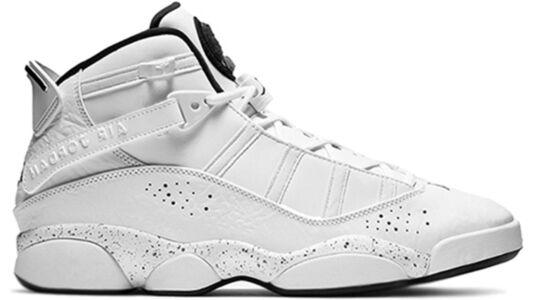 Jordan 6 Rings'Confetti' GS White/Black-Canyon Gold-University Red 籃球鞋/運動鞋 (323419-100) 海外預訂