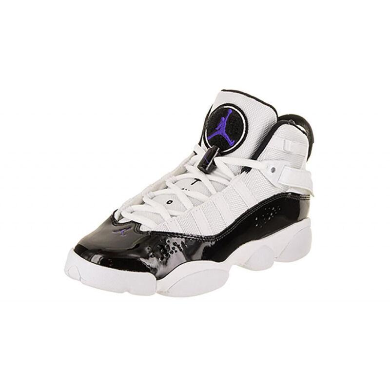 Jordan 6 Rings'White Black' GS White/Black 籃球鞋/運動鞋 (323419-104) 海外預訂