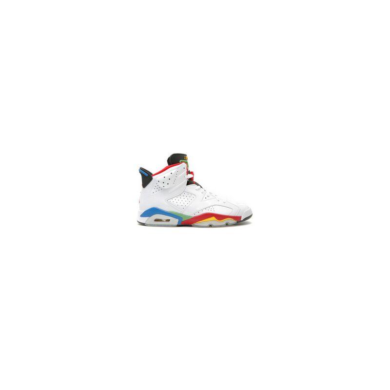 Air Jordan 6 Retro 'Olympic' White/Varsity Red-Green Bean-New Blue 籃球鞋/運動鞋 (325387-161) 海外預訂