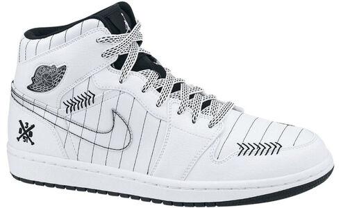 Air Jordan 1 Retro 'Barons - Home' White/Black-Silver 籃球鞋/運動鞋 (325514-102) 海外預訂