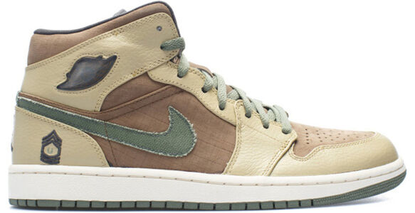 Air Jordan 1 Retro 'Armed Forces' Mdm Brown/Urban Haze-Hy-Anthrct 籃球鞋/運動鞋 (325514-231) 海外預訂