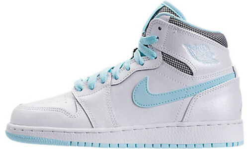 Air Jordan 1 Retro High'White Still Blue' GG White/White-Still Blue 籃球鞋/運動鞋 (332148-106) 海外預訂
