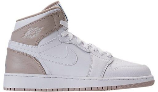 Air Jordan 1 Retro High'Linen' GS White/Light Sand-Boarder Blue 籃球鞋/運動鞋 (332148-116) 海外預訂