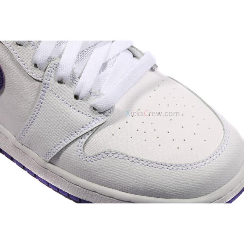 Air Jordan 1 Retro BG White Court Purple 籃球鞋/運動鞋 (332148-137) 海外預訂