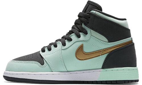 Air Jordan 1 Retro High'Mint Foam' GS Mint Foam/Anthracite-White-Metallic Gold 籃球鞋/運動鞋 (332148-300) 海外預訂