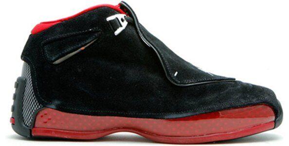 Air Jordan 18 Retro'Countdown Pack' GS Black/Varsity Red 籃球鞋/運動鞋 (332251-061) 海外預訂