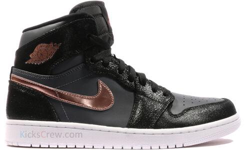 Air Jordan 1 Retro High Black Metallic Red Bronze 籃球鞋/運動鞋 (332550-016) 海外預訂